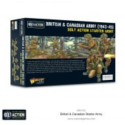 Bolt Action - British & Canadian Army (1943-45) Starter Army
