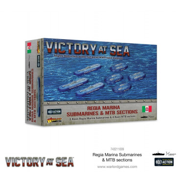 Victory at Sea - Regia Marina Submarines & MTB Sections
