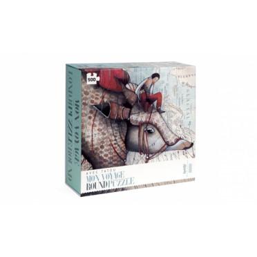 Puzzle - Mon Voyage avec Tatou - 500 Pièces