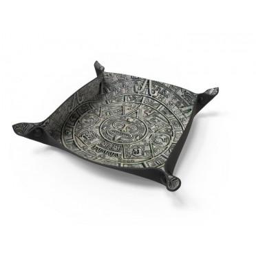 """Dice tray Mayan - 8,5"""" x 8,5"""""""