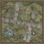 Playmats - Mousepad - Treasure Land - 36''x36''