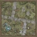 Playmats - Mousepad - Treasure Land - 36''x36'' 0