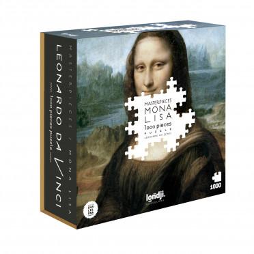 Puzzle - Leonard De Vinci - Mona Lisa - 1000 pièces