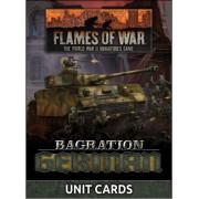 Flames of War - Bagration: German Unit Cards