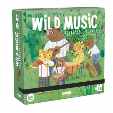 Puzzle - Wild Music - 36 Pièces