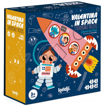 Puzzle - Valentina in Space