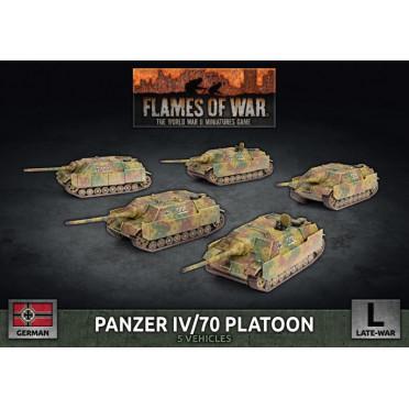 Flames of War -  Panzer IV/70 Platoon