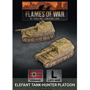 Flames of War - Elefant Tank-Hunter Platoon