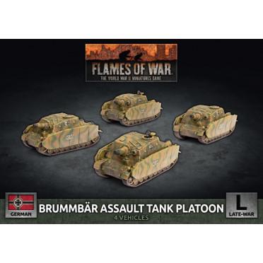 Flames of War - Brummbär Assault Tank Platoon