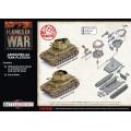 Flames of War - Armoured AA Tank Platoon 1