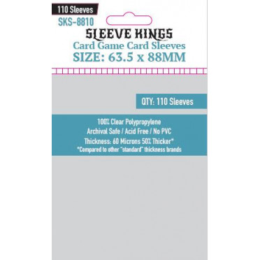 Sleeve Kings - Card Game Card - 63.5x88mm - 110p