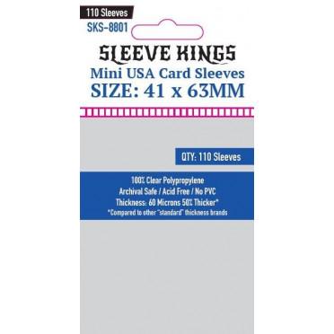 Sleeve Kings - Mini USA Card - 41x63mm - 110p