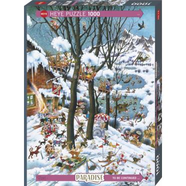 Puzzle - In Winter de Michael Ryba - 1000 Pièces