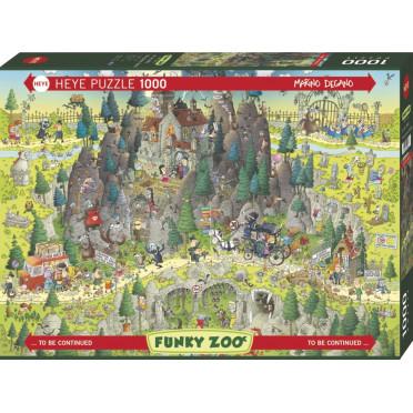 Puzzle- Transylvanian Habitat de Marino Degano - 1000 Pièces