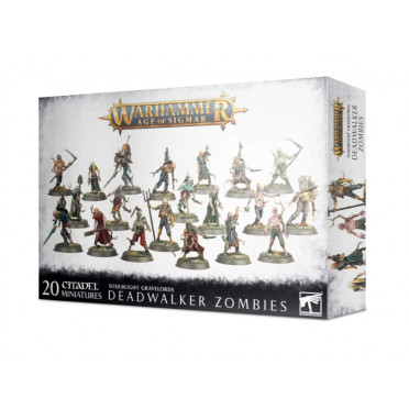 Age of Sigmar : Soulblight Gravelords- Deadwalkers Zombies (copie)