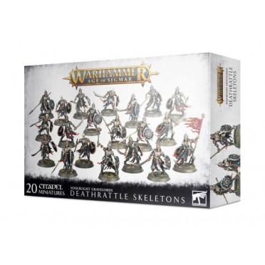 Age of Sigmar : Soulblight Gravelords- Deathrattle Skeletons