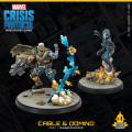 Marvel Crisis Protocol - Cable & Domino 1