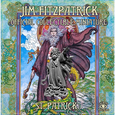Jim Fitzpatrick Official Collectible Miniature: St. Patrick