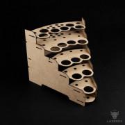 Modular Paint Rack LaserOx - 26mm 45° (Corner)