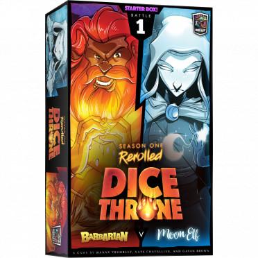 Dice Throne Season 1 Rerolled - Barbarian vs Moon Elf