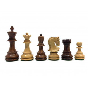 Pièces d'échecs 76mm Sheesham Luxe