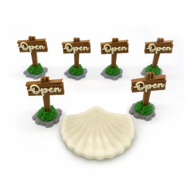 Open Signs & Shell for Pearlbrook Expansion - Everdell