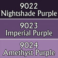Reaper Master Series Paints Triads: Royal Purples 0