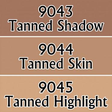 Reaper Master Series Paints Triads: Dark Skin Tones