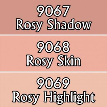 Reaper Master Series Paints Triads: Rosy Skintones