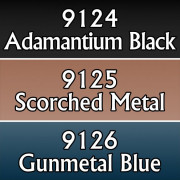 Reaper Master Series Paints Triads: Colored Metallics Three