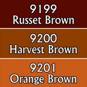 Reaper Master Series Paints Triads: Autumn Browns