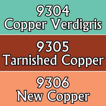 Reaper Master Series Core Colors Triad: NMM Copper Colors