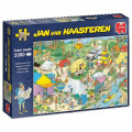Puzzle - Jan van Haasteren - Camping in the Forest - 2000 pièces 0