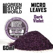 Micro Feuilles - Mélange Violet Foncé