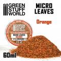 Micro Leaves - Orange Mix 0