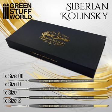Gold Series : Set Pinceaux Premium