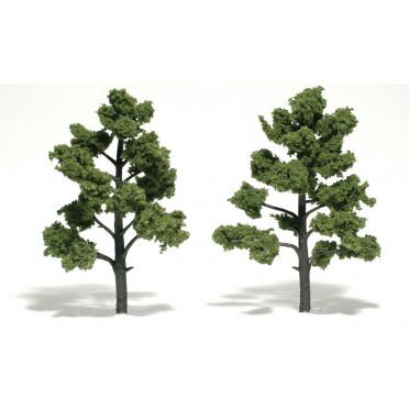 Woodland Scenics - Arbres à feuilles - Light Green : 15-18 cm