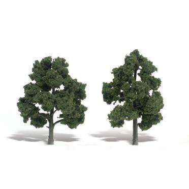 Woodland Scenics - Arbres à feuilles - Medium Green : 12-15 cm