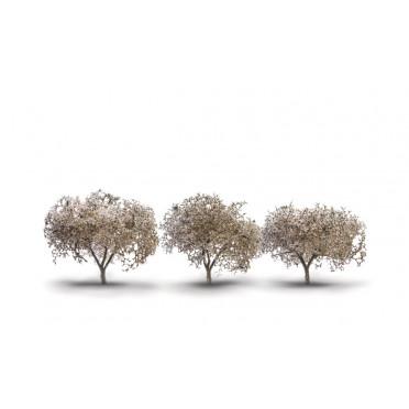 Woodland Scenics - 3x Cherry Blossom Trees