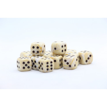 Set of 36 Chessex dice : Frosted