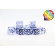 Set of 36 Chessex dice : Nebula