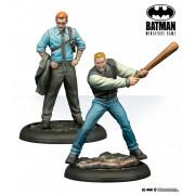 Batman Miniatures Game - Lieutenant Gordon & Flass (Year One)