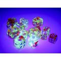 Set of 36 Chessex dice : Nebula 6