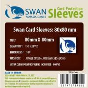 Swan Panasia - Card Sleeves Standard - 80x80mm - 150p