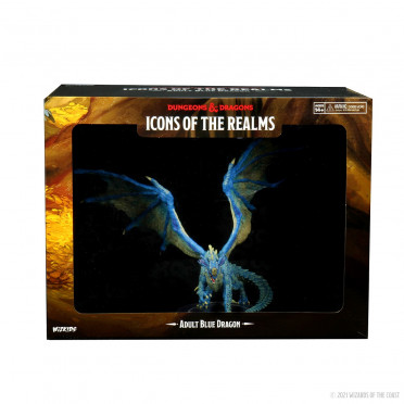 D&D Icons of the Realms Adult Blue Dragon