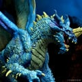 D&D Icons of the Realms Adult Blue Dragon 2
