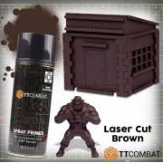 TTCombat : Primer - Laser Cut Brown (400ml)