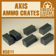 Dust - Axis Ammo Crates Set