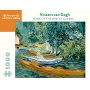Vincent Van Gogh - Sur les Rives de l'Oise près d'Auvers - 1000 pièces