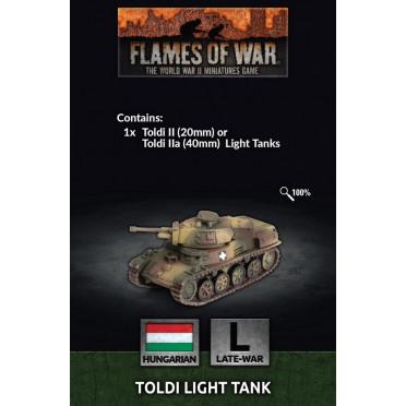 Flames of War - Toldi Tank